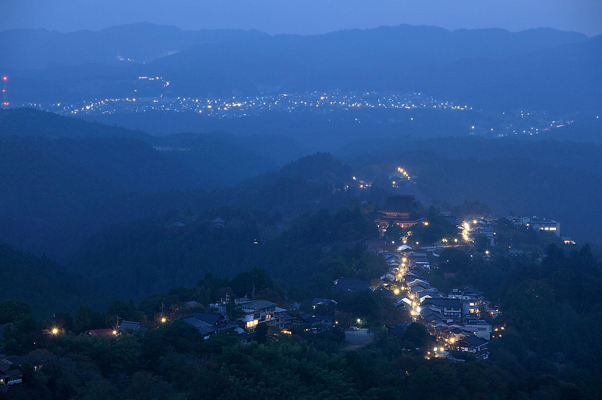 ひょうたろう 吉野山 冬 写真